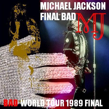 コレクターズCD Michael Jackson(マイケルジャクソン 89年 BAD WORLD TOUR最終日) LOS ANGELES