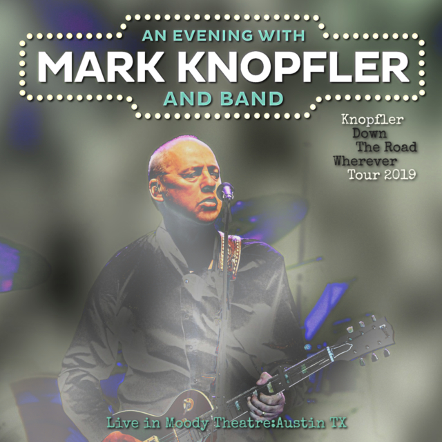 コレクターズCD Mark Knopfler - Down the Road Wherever Tour 2019