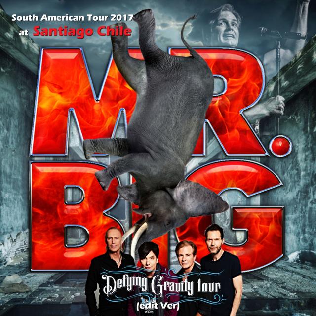 コレクターズCD Mr. Big - Defying Gravity South American Tour 2017