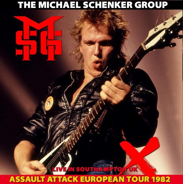 コレクターズCD Michael Schenker Group - Assault attack European Tour 1982