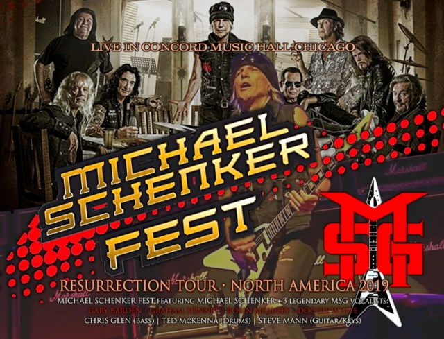 コレクターズCD Michael Schenker Fest 2019