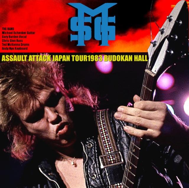 コレクターズCD Michel Schenker Group - Japan Tour 1983