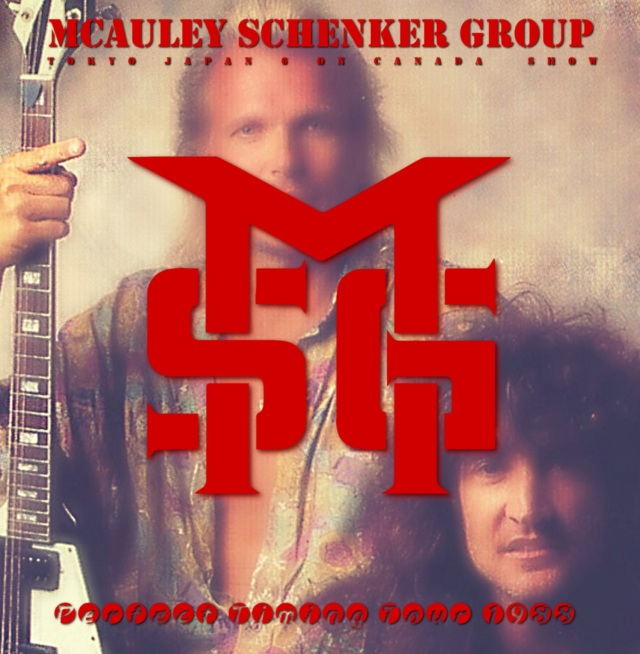 コレクターズCD McAuley Schenker Group - Perfect Timing Tour 1988