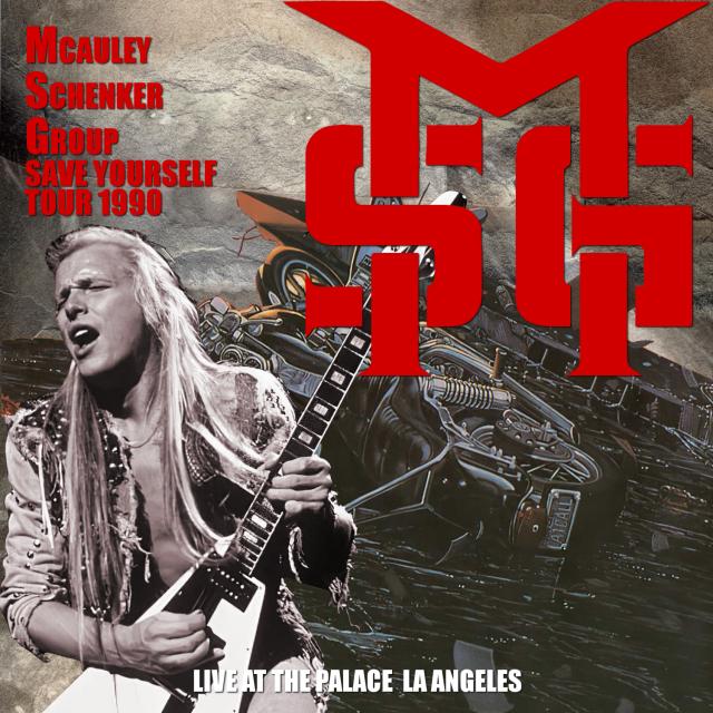コレクターズCD McAuley Schenker Group - Save Yourself Tour 1990