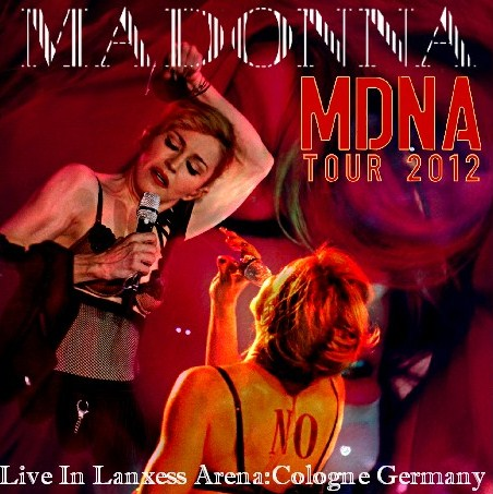 コレクターズCD マドンナ 2012年ヨーロッパ公演 MDNA Tour 2012