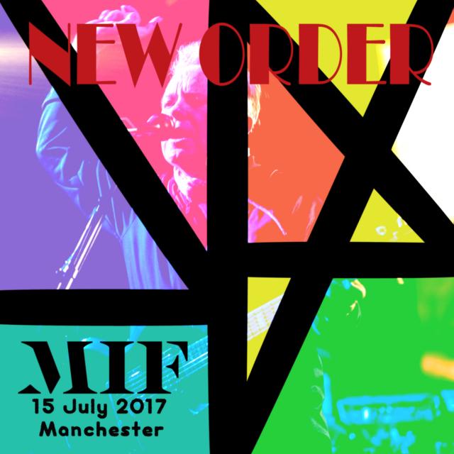 コレクターズCD ニューオーダー 2017年ヨーロッパツアー