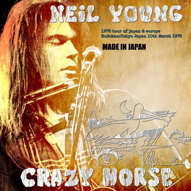 コレクターズCD Neil Young with Crazy Horse - 1976 Tour of Japan & Europe