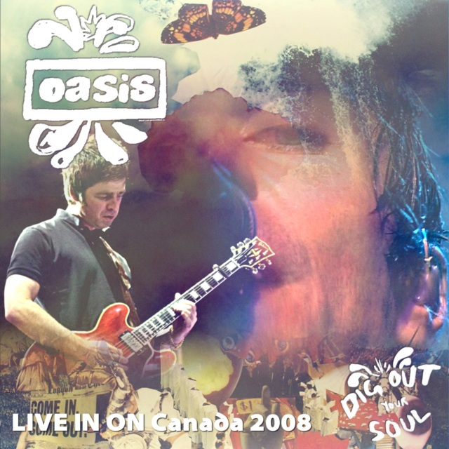 コレクターズCD Oasis - Dig Out Your Soul North American Tour 2008