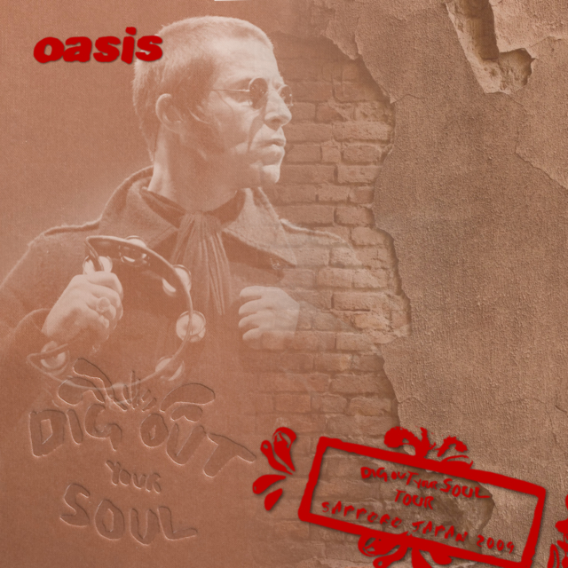 コレクターズCD Oasis - Dig Out Your Soul Japan Tour 2009