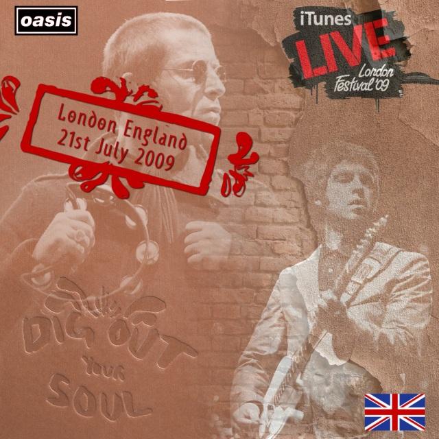 コレクターズCD Oasis - Dig Out Your Soul Tour 2009