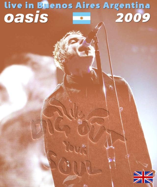 コレクターズBlu-ray   OASIS - Dig Out Your Soul South American Tour 2009