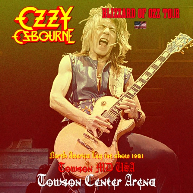 コレクターズCD Ozzy Osbourne - Blizzard of Ozz Tour 1981