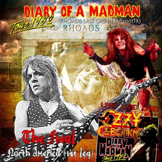 コレクターズCD Ozzy Osbourne(with Randy Rhoads) -  DIARY OF A MADMAN U.S. TOUR 1982