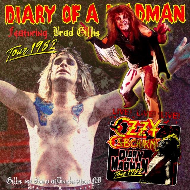 コレクターズCD Ozzy Osbourne - Diary of a Madman Tour 1982