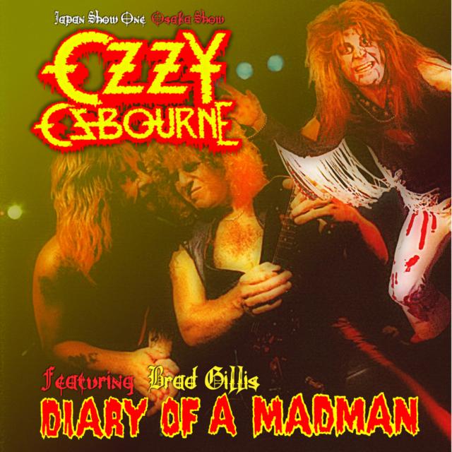 コレクターズCD Ozzy Osbourne -  Diary of a Madman Japan Tour 1982