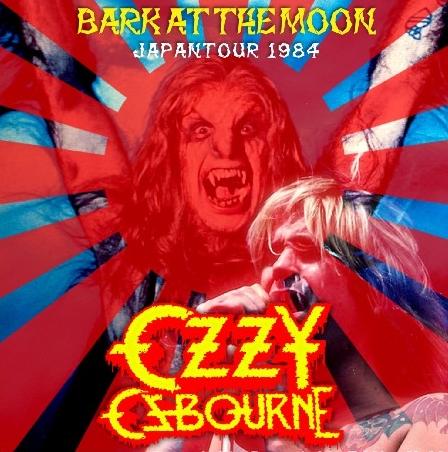 コレクターズCD  オジーオズボーン 1984年日本公演 Bark At The Moon Japan Tour 1984