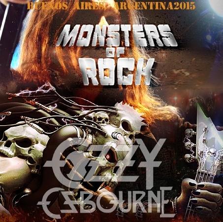 コレクターズCD オジーオズボーン 2015年アルゼンチン Monsters of Rock Ar 2015