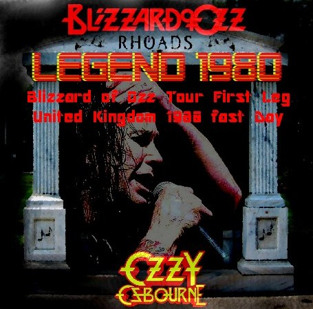 コレクターズCD Ozzy Osbourne(w/ランディ・ローズ Blizzard of Ozz tour 80 First Leg  Uk 初日)