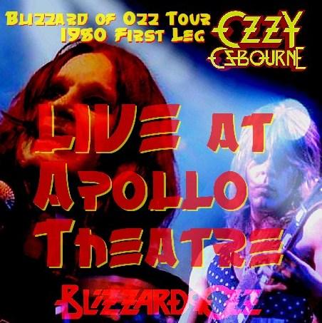 コレクターズCD Ozzy Osbourne(w/ランディ・ローズ Blizzard of Ozz tour 80 First Leg  Uk )Manchester