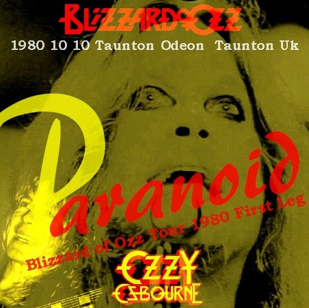 コレクターズCD Ozzy Osbourne(w/ランディ・ローズ Blizzard of Ozz tour 80 First Leg  Uk )Taunton
