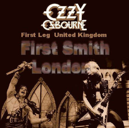 コレクターズCD Ozzy Osbourne(w/ランディ・ローズ Blizzard of Ozz Tour First Leg UK 1980)/1980.10.26 Hammersmith Odeon, London