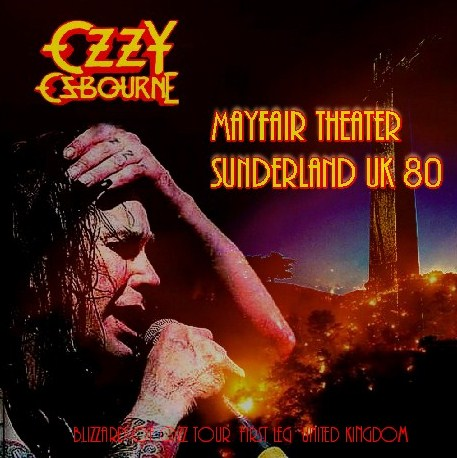 コレクターズCD Ozzy Osbourne(w/ランディ・ローズ Blizzard of Ozz Tour First Leg UK 1980)/1980.10.28 Mayfair Theater