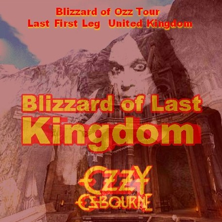 コレクターズCD Ozzy Osbourne(w/ランディ・ローズ Blizzard of Ozz tour 80  First Leg  Uk)
