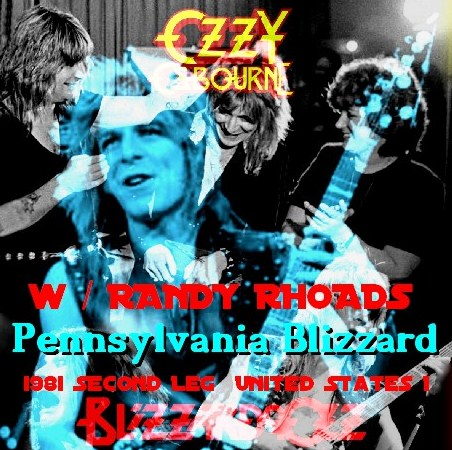 コレクターズCD Ozzy Osbourne(w/ランディ・ローズ Blizzard of Ozz tour 81 Second Leg  USA) Pennsylvania