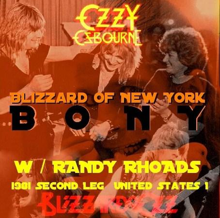 コレクターズCD Ozzy Osbourne(w/ランディ・ローズ Blizzard of Ozz tour 81 Second Leg  USA) New York