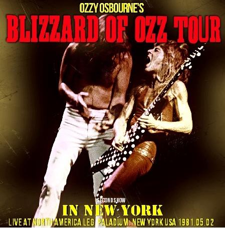 コレクターズCD オジーオズボーン 1981年アメリカツアー