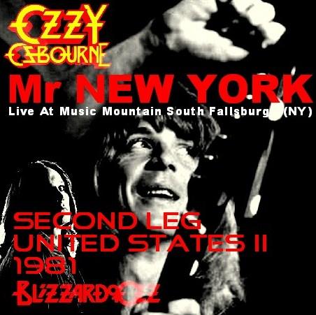 コレクターズCD Ozzy Osbourne(w/ランディ・ローズ Blizzard of Ozz tour 81 Second Leg  USA Ⅱ)