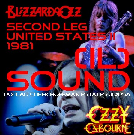 コレクターズCD Ozzy Osbourne(w/ランディ・ローズ Blizzard of Ozz tour 81 Second Leg  USA Ⅱ)