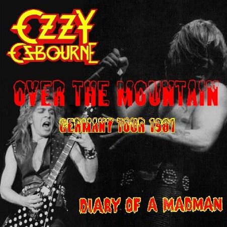 コレクターズCD Ozzy Osbourne(w/ランディ・ローズDIARY OF A MADMAN GERMANY TOUR 81 ドイツライブ)
