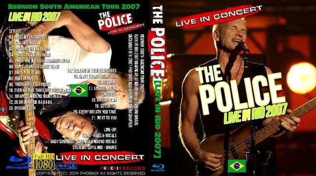コレクターズBlu-ray The Police - Reunion South American Tour 2007