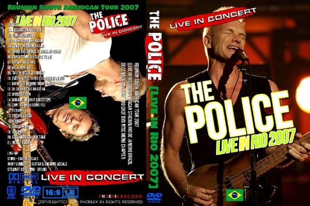 ザ・ポリス2007年Live in Rio Proshot DVD