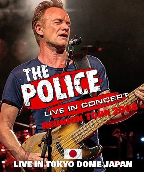 コレクターズBlu-ray The Police - Reunion Tour 2008