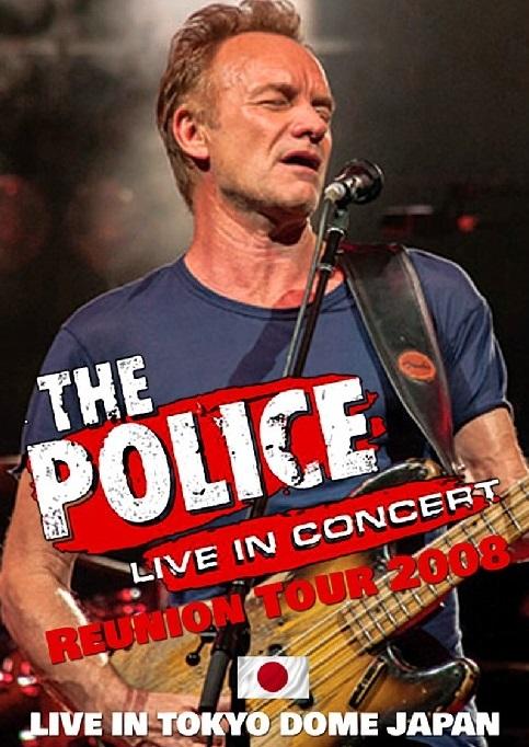 コレクターズDVD The Police - Reunion Tour 2008