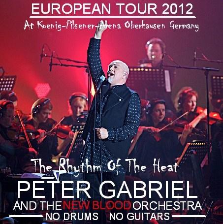 コレクターズCD ピーター・ガブリエル 2012年ヨーロッパツアー New Blood Orchestra European Tour 2012