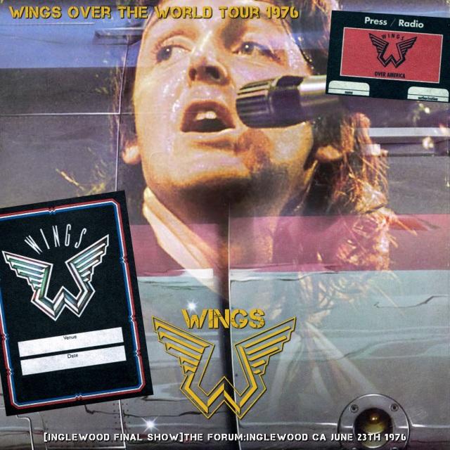 コレクターズCD Paul McCartney & Wings - 1975-76 Wings Over the World Tour