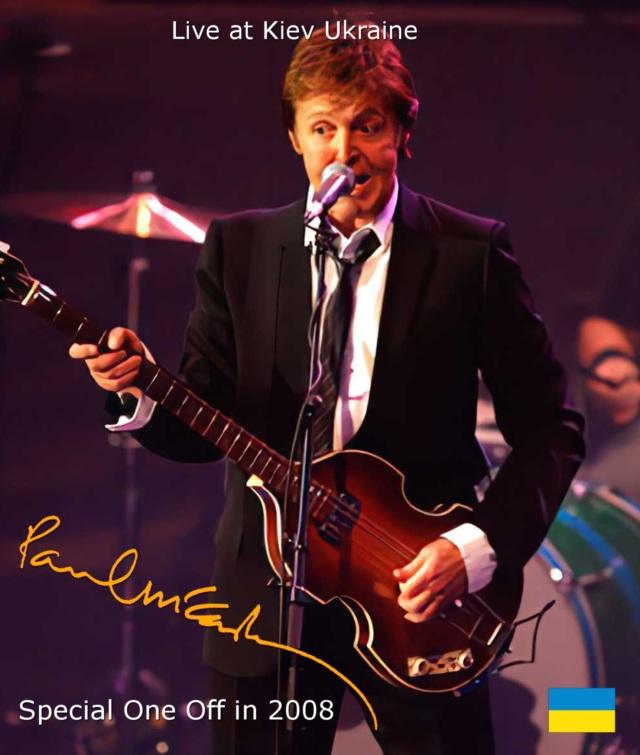 コレクターズBlu-ray  Paul McCartney - Special One Off in 2008