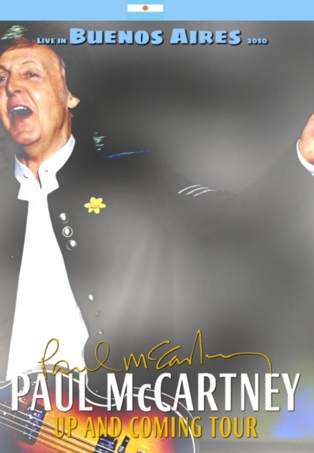 コレクターズDVD Paul McCartney - Up and coming tour 2010