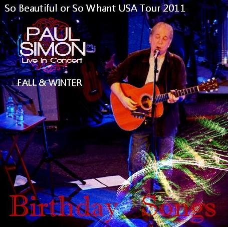 コレクターズCD Paul Simon (ポール・サイモン) 2011年アメリカツアー