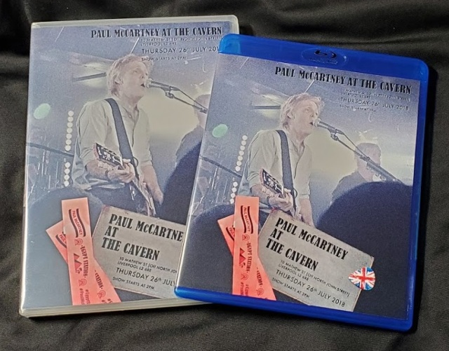 コレクターズDVD  Paul McCartney - Live at the Cavern Club 2018