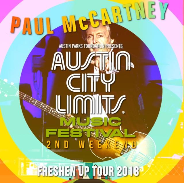コレクターズCD Paul McCartney - Freshen Up Tour 2018