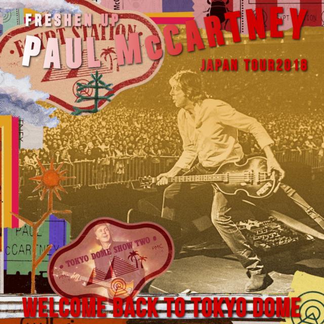 コレクターズCD Paul McCartney - Freshen Up Japan Tour 2018