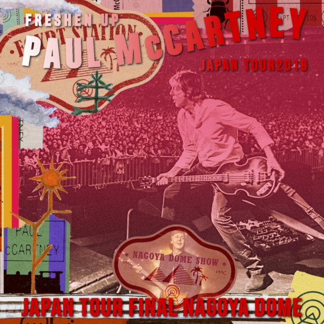 コレクターズCD Paul McCartney - Freshen Up Japan Tour 2018
