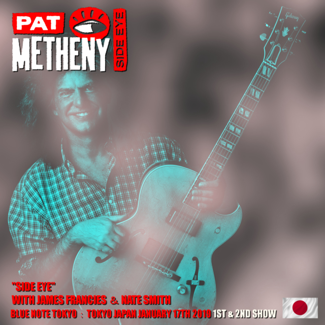 コレクターズCD Pat Metheny - Japan Tour 2019