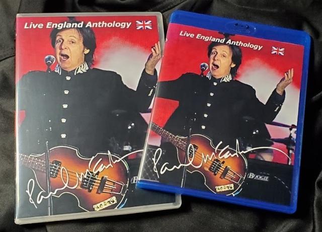 コレクターズBlu-ray - Paul McCartney - Live England Anthology