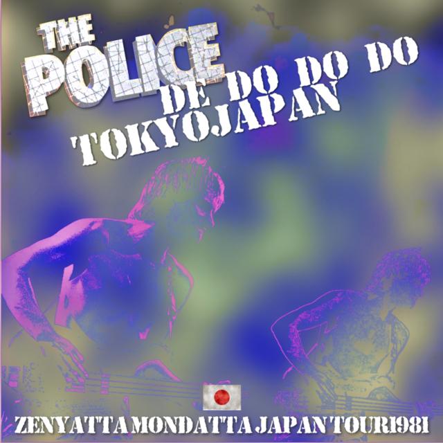コレクターズCD The Police - Zenyatta Mondatta Japan Tour 1981