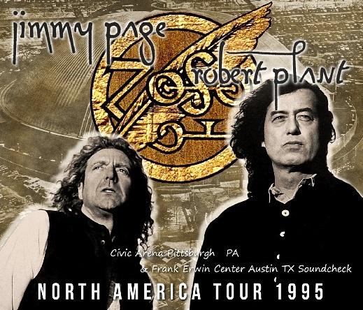 コレクターズCD Page & Plant 1995年北米ツアーライブ+リハーサル)
